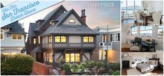 Feeling Lucky enough to win a house? Buy a raffle ticket for $150 to win a 3-story, 5 bdrm, 5,000 sq ft house in Pac Heights, San Francisco! Crayyyyy.