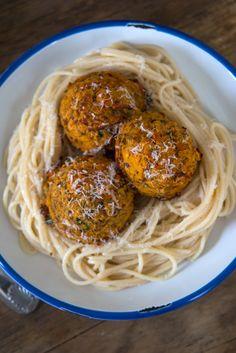 Gluten Free Vegetarian Meatballs (with Red Lentils & Mushrooms)