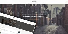 Calliope - Portfolio & Agency WordPress Theme by OceanThemes Calliope is a Modern and Creative premium WordPress Theme . Design Theme is made in a beautiful style. It is suitable for Personal