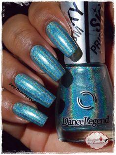 Chasing Moonbows - Dance Legend    #esmaltadasdapatydomingues    #dancelegend Dance Legend, Nail Polish, Nails, Finger Nails, Ongles, Manicure, Nail, Sns Nails, Polish