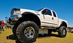 lifted ford pics
