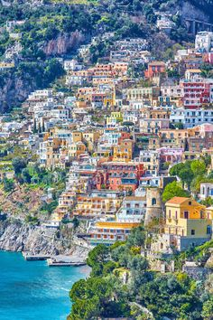 Amalfi Coast, Italy: This long-lusted-after vacation spot recently made an appearance in Wonder Woman. Click through for more of the most beautiful places in the world! Places To Travel, Places To See, Travel Destinations, Travel Trip, Travel Info, Cheap Travel, Travel Hacks, Budget Travel, Time Travel