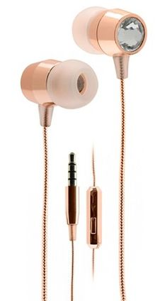 Pretty rose gem earbuds