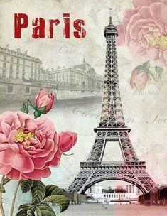 ℓυηα мι αηgєℓ ♡ — gabytaangeles Paris Wallpaper, Trendy Wallpaper, Cute Wallpapers, Decoupage Vintage, Decoupage Paper, Paris Eiffel Tower, Tour Eiffel, Scrapbooking Paris, Vintage Images