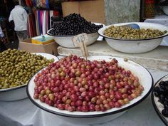 Olives everywhere you go !