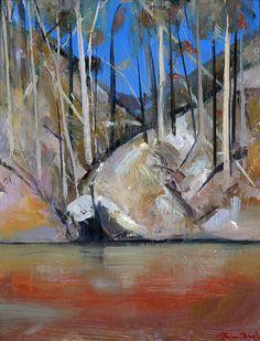 Arthur Merric Bloomfield BOYD in stock at Art Nomad Australian Painting, Australian Artists, Abstract Landscape, Landscape Paintings, Ink Paintings, Arthur Boyd, Pastel, Indigenous Art, Art For Art Sake