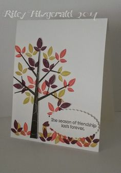 Stampin' with Riley: Two Card Saturday