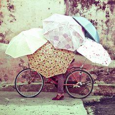 House and Garden 'umbrella' shoot in Hoi-An, Vietnam