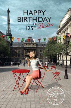 Happy Birthday !  Bistro 125 Anniversary!