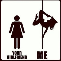 Me > your girlfriend ;)