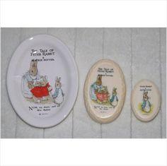 vintage Beatrix Potter Peter Rabbit Soap Dish & Soap F.Warne on eBid United Kingdom