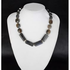 The Hestia Healing Necklace made of pure 925 Silver and natural Labradorite gemstones. Stainless Steel Wire, Chakra Healing, Ancient Greece, Necklace Lengths, Labradorite, Natural Gemstones, 925 Silver, Pure Products, Chain