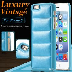 Leather Phone Case Vintage Luxury Soft Sofa Leather Back Case For Iphone 6/6plus Crazy Horse Leather Back Cover Anti Scratch Dhl Free Make Your Own Cell Phone Case From Mayiandjay, $1.96