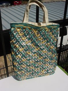 Pull Tab Tote by Pop Top Lady, via Flickr