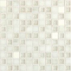 Check out this Daltile product: Aura Silver Cloud 1 x 1 Mosaic AU30