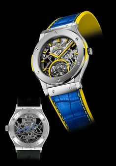 Hublot Classic Fusion Tourbillon Skeleton homenageia Guga