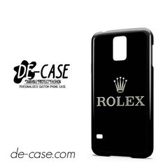 Rolex Logo DEAL-9298 Samsung Phonecase Cover For Samsung Galaxy S5 / S5 Mini