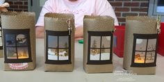 Inking Idaho on the Road Seattle Was a Huge Success! Love these easy lanterns