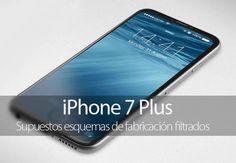 Se filtran esquemas del supuesto iPhone 7 Plus con cámara dual y Smart Connector