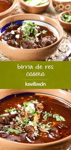 Authentic Mexican Recipes, Mexican Food Recipes, Dinner Recipes, Pizza Hut, Crockpot Recipes, Cooking Recipes, Healthy Recipes, Recipe For Birria, Good Food