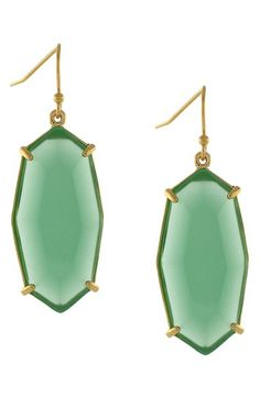 Louise et Cie 'Stone Statement' Drop Earrings available at #Nordstrom