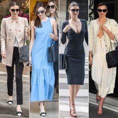 Miranda Defines Parisian Chic — Which Look Gets Your Vote?