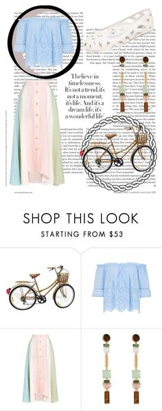 """pastels"" by pibb on Polyvore featuring Peter Pilotto, Henri Bendel and Melissa"