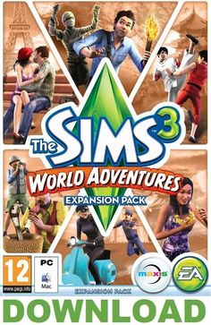 The sims 3 world adventures pc mac - #origin #download key (no dvd or #postage),  View more on the LINK: http://www.zeppy.io/product/gb/2/171906013482/