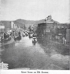 Downtown Elizabethton, TN circa 1948