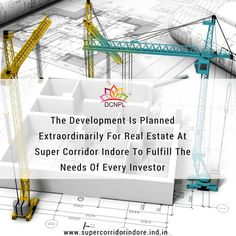 The Development Is Planned Extraordinarily For #RealEstate At #SuperCorridor #Indore To Fulfill The Needs Of Every Investor.
