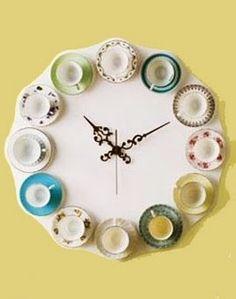 @Alisa Windsor! A teacup clock!