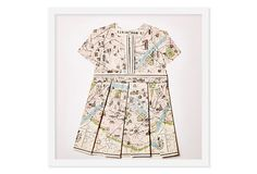 Dawn Wolfe, Map Dress (Paris) on OneKingsLane.com