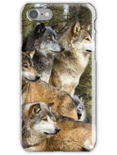 Wolves iPhone 7 Snap Case