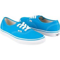 Vans Authentic lace-up deck shoes. Rubber Vans Off the Wall heel badge. Cute Vans, Cute Shoes, Me Too Shoes, Lace Sneakers, Lace Up Shoes, Vans Shoes, Boat Shoes, Vanz, Crazy Shoes