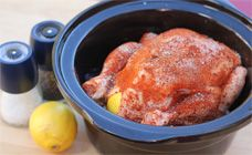 Slow Cooker Chicken Recipe - Slow cooker