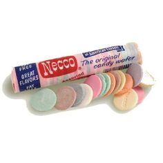 A true American Classic, Necco® Wafers have long been a signature item in old country stores. These candies come in an assortment of flavors - lemon, orange, lime, clove, cinnamon, wintergreen, licorice, and chocolate. Reminiscent of days gone by, Necco® Wafers are tasty, fun, and fat free!