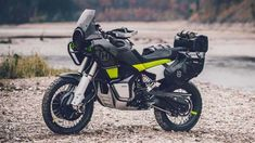 Husqvarna is set to take on the ever-growing world of adventure touring with its new concept motorcycle - the Norden Concept Motorcycles, Custom Motorcycles, Custom Bikes, Triumph Motorcycles, Moto Enduro, Moto Bike, Scrambler, Ktm, Ducati
