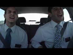 best missionaries ever! Hahahaha i enjoy this, especially the end :D And this just proves that angels are watching over them because they are clearly NOT watching the road!