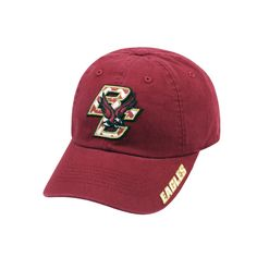 Adult Top of the World Boston College Eagles Chevron Logo Cap, Men's, Dark Red
