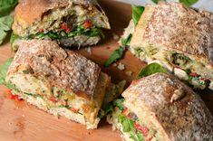 Chicken Artichoke Ciabatta Sandwich