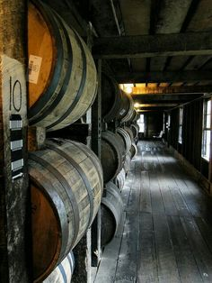 Taken at the Heaven Hill distillery in Bardstown, Kentucky. Is it there so you can wait on your whiskey to age?