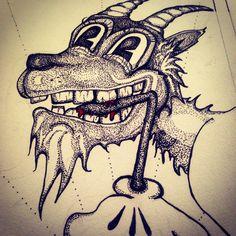#cmeisterartz doodle progress (I smell a rat)