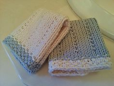 Ravelry: Organic Cotton Washcloths pattern by MaDonna Marie - $1.99