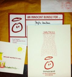 Check out Steph's latest blog about @innocent drinks! #DSMMCM1314 #socialmedia