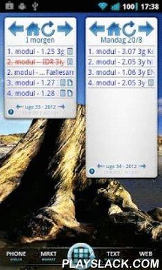 Lectio Widget Free  Android App - playslack.com , Lectio Widget er en widget til din homescreen. I modsætning til at vælge fra din apps liste, skal du placere denne på din homescreen fra widget menuen. Formålet med dette program er, at gøre det så nemt og hurtigt som muligt, at holde dig opdateret med dit skema fra lectio.dk på din Android enhed.Nogle af de ting du kan med Lectio Widget er:Vælge mellem flere forskellige widget størrelser.Navigere rundt i uger samt ugedage.Tjekke…