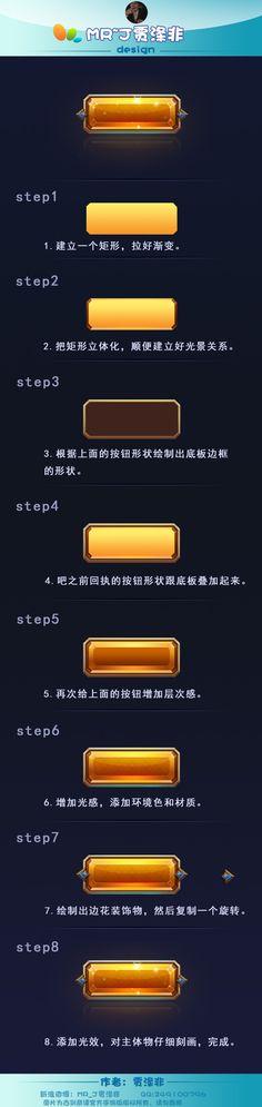 金黄按钮展示