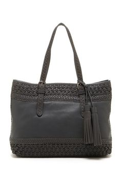 Isabella Fiore Moroccan Braid Tote by Non Specific on @HauteLook