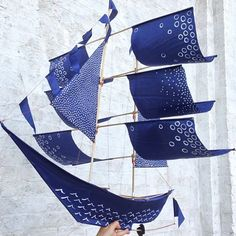 Beautiful hand-painted kites by @Emily Fischer for #CraftingCommunity