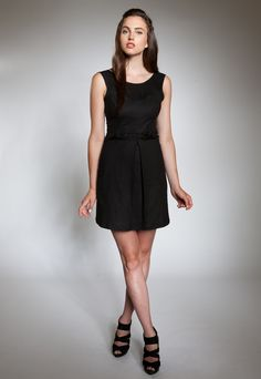 Make, buy, sell - custom fit fashion - Stanfordrow.com Matilda, Fitness Fashion, Classic, How To Make, Stuff To Buy, Black, Dresses, Women, Style