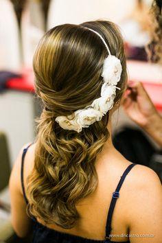 Tulle - Acessórios para noivas e festa. Arranjos, Casquetes, Tiara | ♥ Beatriz Morozetti